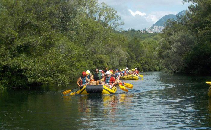 Cetina rafting from Trogir