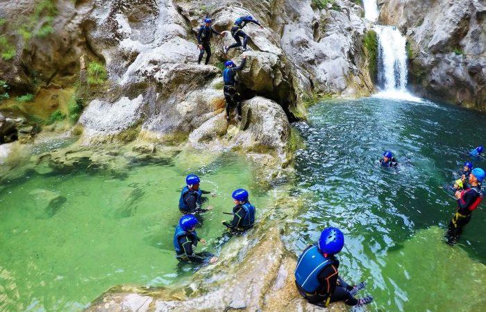 Canoying adventure from Trogir