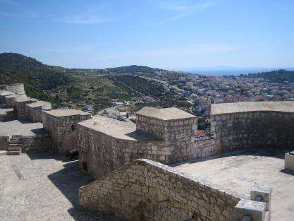 Fortress Fortica town Hvar