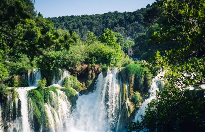 National park Krka skardinski buk waterfall