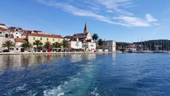 Fisihing place Milna island Brac