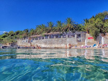 palmizana bay pakleni islands near Hvar