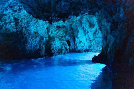 Blue cave island Biševo
