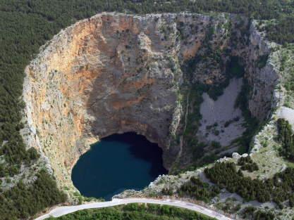 Imotski red lake