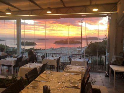 Restoran Maslinica sunset