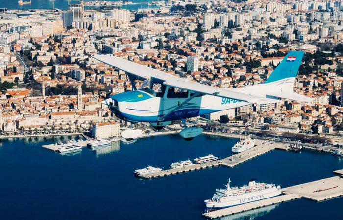 Panoramski letovi izlet Trogir Split