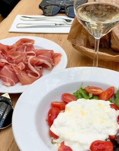 Dalmatian food and wine tasting