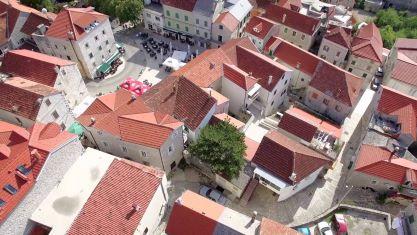 Sightseeing of town Imotski